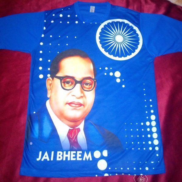 d02a3014f Jai Bhim T-shirt - Blue color Round neck- Jai bhim online store